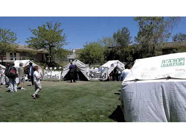 Canyon students recreate 'camp'