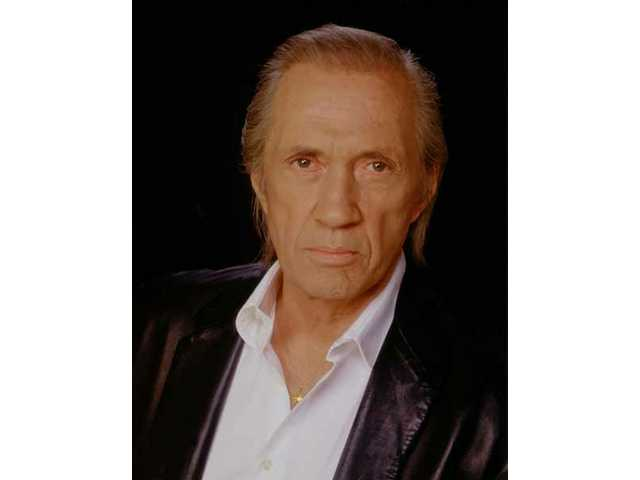 David Carradine is a 2008 Walk of Western Stars inductee, part of the 2008 Cowboy Festival in Santa Clarita.