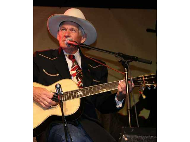 Grammy nominee Don Edwards, pictured onstage at the 2007 Western Walk of Stars induction gala, returns to perform on the main Melody Ranch Stage at the 2008 Cowboy Festival in Santa Clarita.