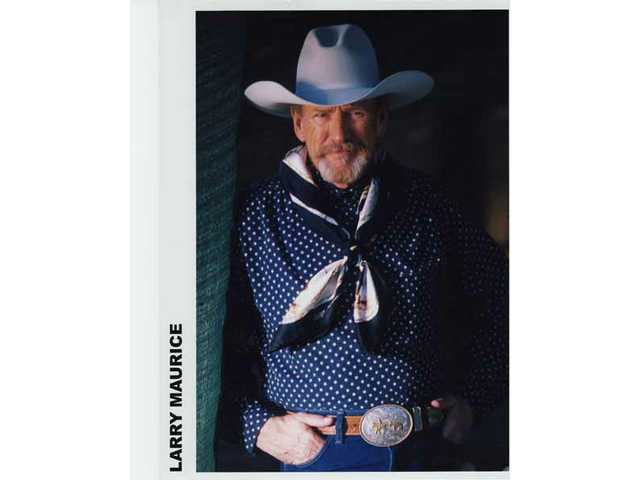 Larry Maurice will be the emcee at Friday night's Walk of Western Stars gala induction dinner. Maurice will also emcee the Cowboy Festival Saturday and Sunday, introducing the performers on the main Melody Ranch stage.