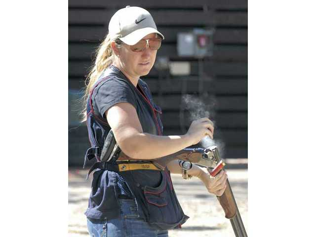 Top gun: Four-time Olympic medalist Kim Rhode