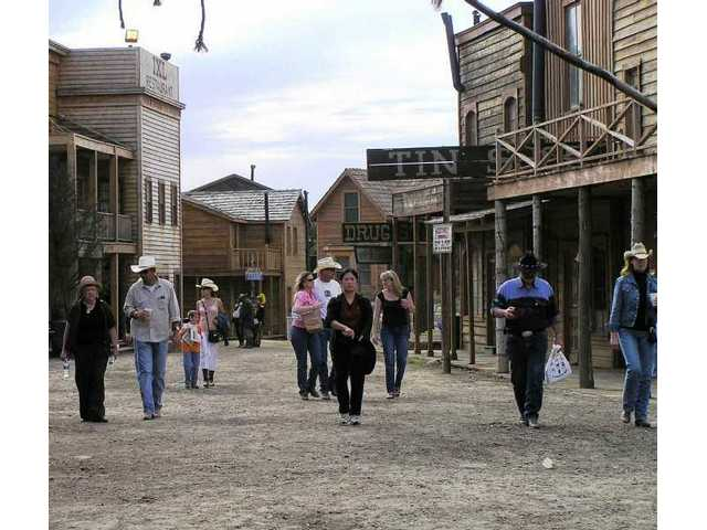 "Main Street looked like this in 2006, when the ""Deadwood"" series was being filmed there -- except during the annual Cowboy Festival."