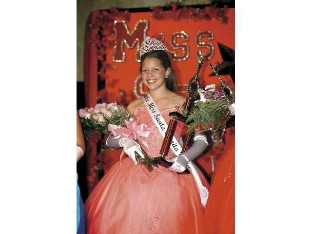 Audrey Hixon was named Little Miss SCV.