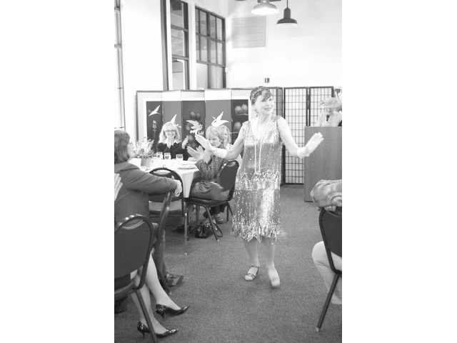 The 1920s came roaring back during the Henry Mayo Holiday Home Tour Luncheon and Fashion Show at Hart Park on April 15, when volunteers from Goodwill Industries modeled vintage clothing ranging from the late 1800s to the 1990s. Proceeds benefited the hospital's Home Tour League.