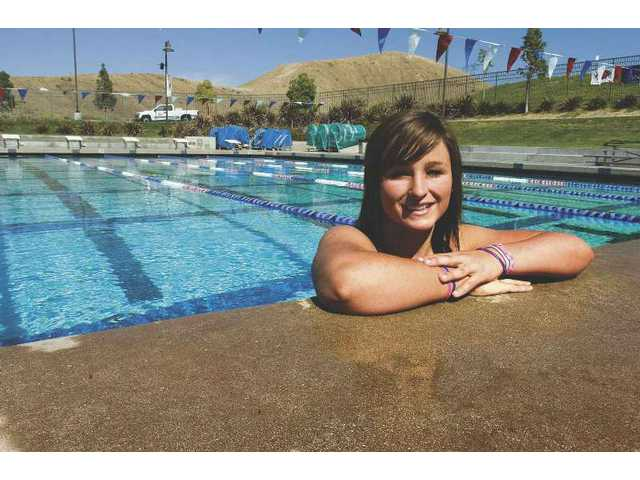 Canyon swimmer Kearsten Livingstone is rising to the top.