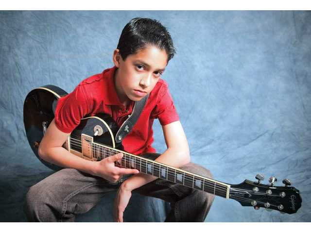 Steven Gudino has played the guitar since he was 5 years old.