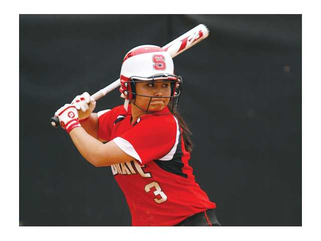 North Carolina State sophomore 5-foot-2-inch second baseman Alyssa Ishibashi is hitting .276 with 16 runs, 15 RBIs and two home runs for the Wolfpack this season.