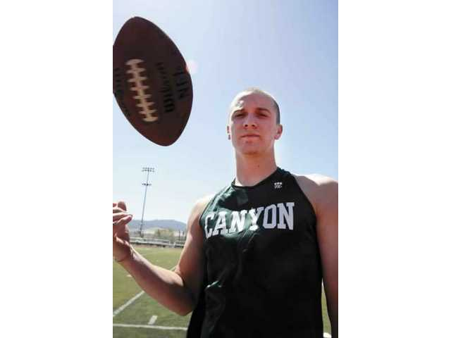 Canyon High student/athlete Stephen Wirthlin said he's lucky to be alive after a car accident on Saturday morning in Gorman.