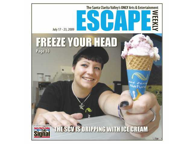 Freeze your head -- ice cream in the SCV