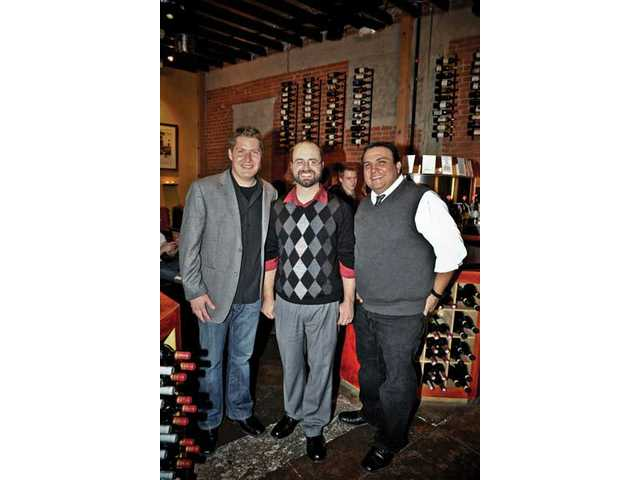 From left, Brandon Stuart, Erik Lima and Vince Villanueva, the founders of The Sitting Tree, a nonprofit organization that serves needy families in Los Angeles County, including the Santa Clarita Valley. Stuart is a graduate of William S. Hart High School in Newhall.