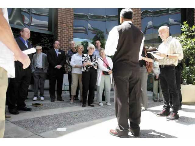 City's diverse faiths come together