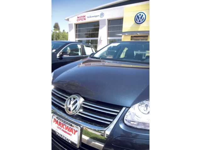 The Parkway Volkswagen dealership has been open since the first of May. The new dearlership opened next to the Infiniti/Hummer dealership on Magic Mountain Parkway.