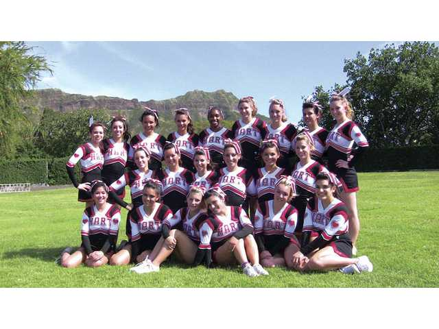 The Hart High School cheerleading team recently went to Hawaii to compete in the Aloha International Spirit Championship. The girls took home the first-place title as international champions in the Advanced-Large Varsity Cheer division during the competition.