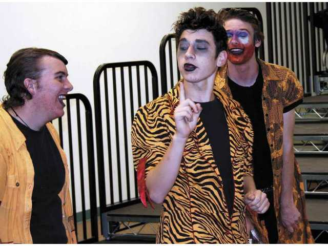 "Canyon High's drama department staged a theatrical production of Anthony Burgess' ""A Clockwork Orange."""