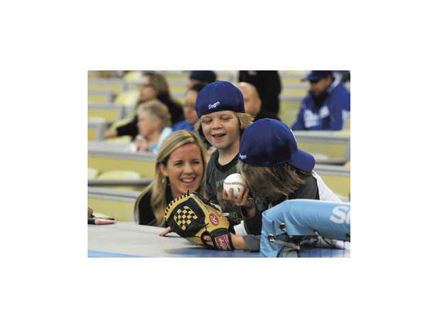 Dodger Stadium emphasizes family fun.