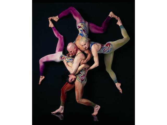 Pilobolus, a dance company celebrating its 40th anniversary during the 2010-11 season, will perform on Sunday, Oct. 3 at 7 p.m.