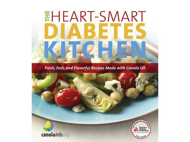 "A new cookbook, ""The Heart-Smart Diabetes Kitchen: Fresh, Fast, and Flavorful Recipes Made with Canola Oil,"" offers 151 ways to make easy, healthy meals. To order this color paperback cookbook from the American Diabetes Association and CanolaInfo, go to store.diabetes.org or call 1 (800) 232-6733. All proceeds from the purchase of this book go to further ADA's mission to improve the lives of people with diabetes. For more information, go to heartsmartdiabetes.org."