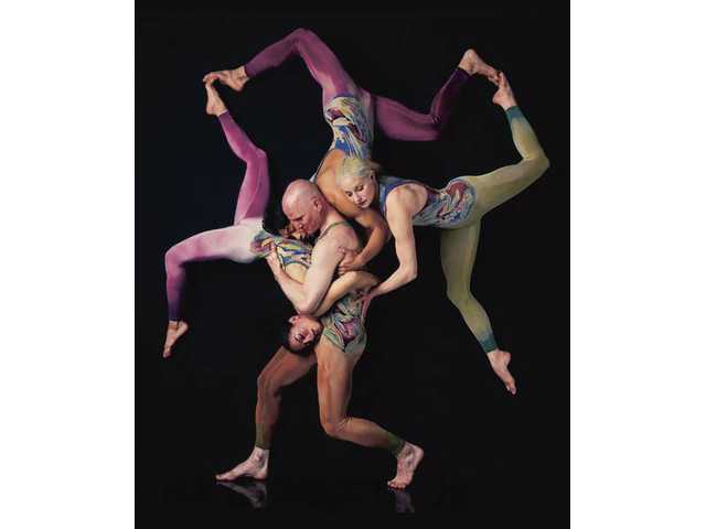 Pilobolus comes to the Performing Arts Center at College of the Canyons on Sunday, Oct. 3.