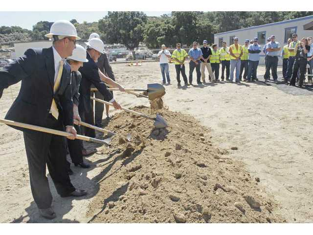 Breaking ground in Newhall