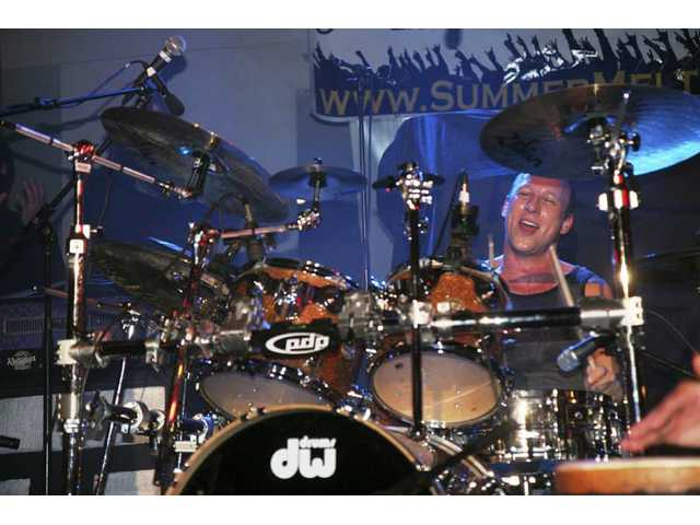 Former Jane's Addiction drummer Stephen Perkins was a featured performer at Yes I Can's fifth annual Summer Meltdown festival on May 10, 2008.