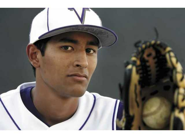 Valencia High baseball pitcher Josh Corralles is heading to Long Beach State on scholarship next year. But the news of his acceptance at Long Beach was tempered this spring when his father was diagnosed with leukemia.