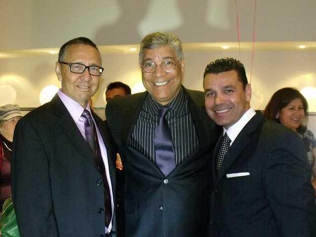 From left to right: Bob Pacheco, SCV Latino Chamber president/founder;Bill Miranda, board member;andRaul Alberto, vice president/founder.