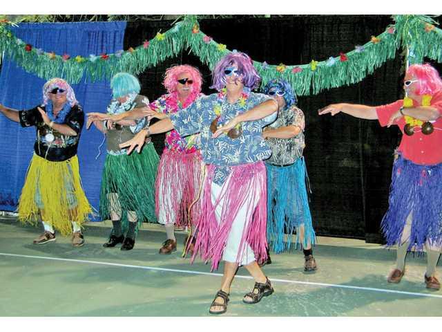 SCV Rotary fun at Bayou Luau