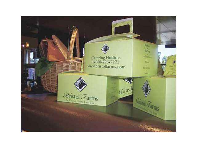 Bristol Farms in Valencia offers a variety of picnic baskets and picnic boxes for customers to enjoy.