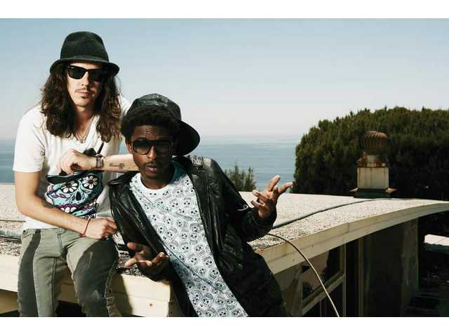 Shwayze (right) and partner Cisco Adler and a couple special guests headline Summer Meltdown, performing from 9:30 p.m. to 11 p.m.