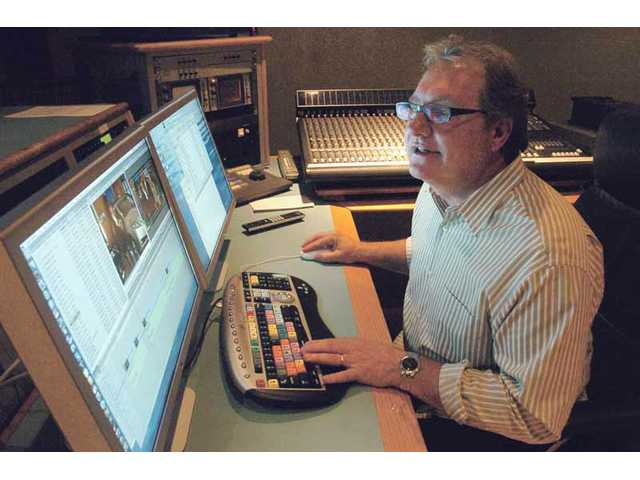 Jim Piccirillo, of Valencia Production Partners, works on a car commercial at his office in Valencia. He has worked with FOX, CBS, UPN, ABC Family, Hallmark, The CW and others. Piccirillo has been a producer and director for nearly three decades in Los Angeles.