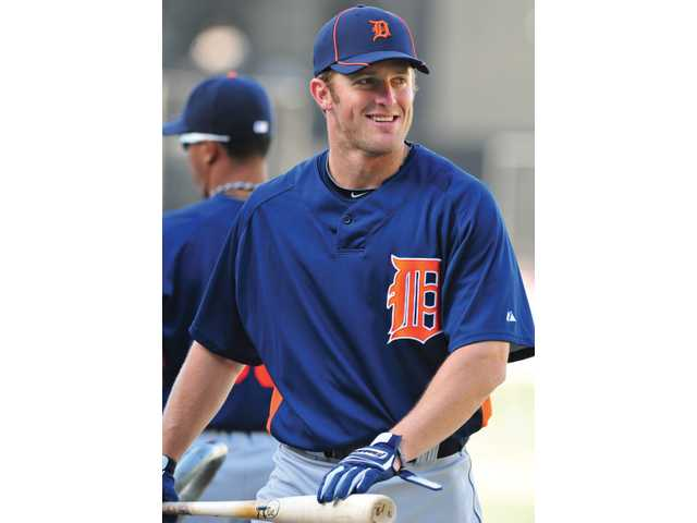 Valencia High graduate Danny Worth was brought up by the Detroit Tigers for his abilities as a second baseman. When Detroit visited Los Angeles this past weekend, Worth returned to the stadium in which he once dreamed of playing.