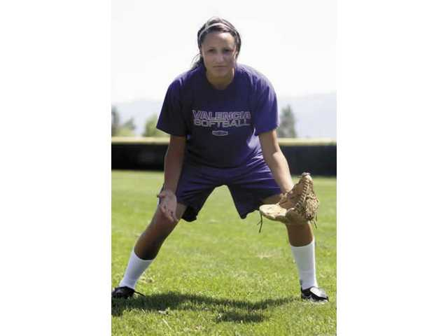Senior outfielder Lelani Fernardino has hit .425 and scored 36 runs this season for Valencia. Batting in the No. 2 slot, she's and integral part of the Vikings offense.
