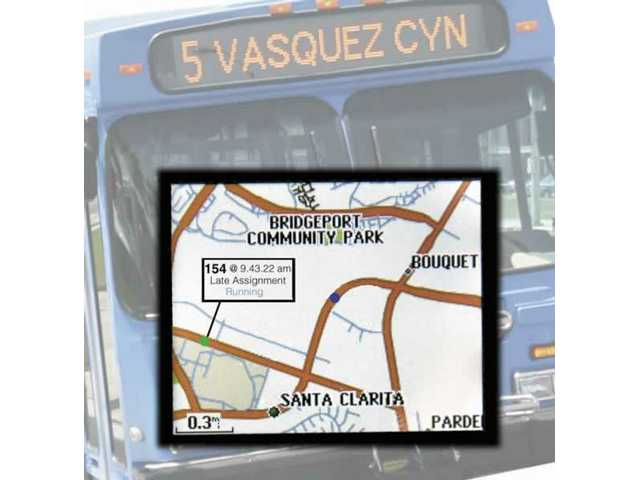 Within another year, a GPS system will track all of the city's 81 buses so anyone at a bus stop or with an Internet connection can tell where the vehicle is on the route.