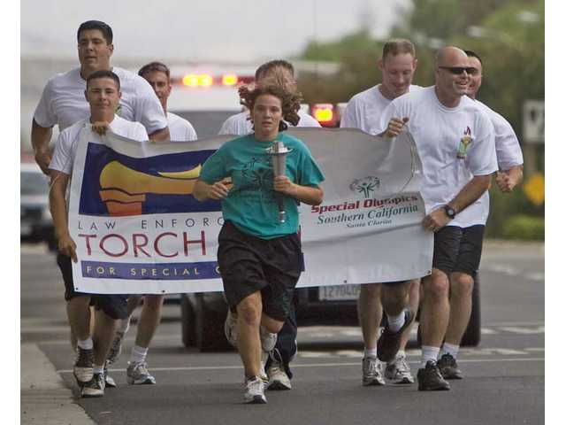 Deputies run for smiles