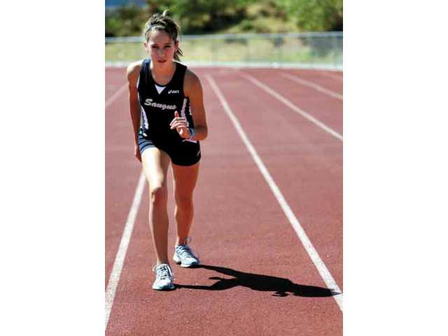 Saugus distance runner, Kaylin Mahoney.