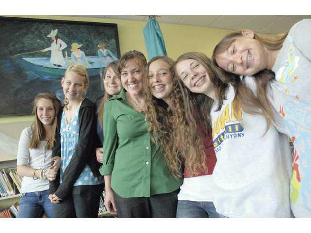 Students leave lasting impression