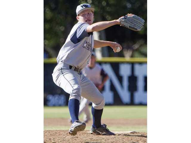 West Ranch's Trevor Fredrickson deals this past season. Fredrickson committed to California State University, Northridge Tuesday, the latest Wildcat to finalize plans to play collegiately next season.