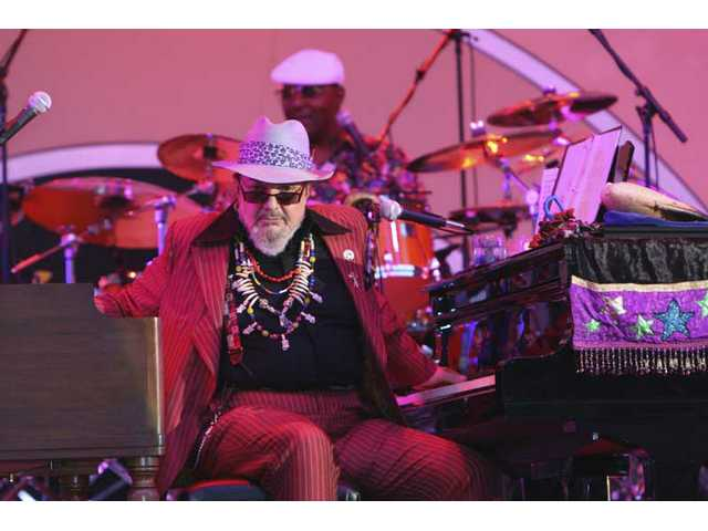 "On Saturday at the Playboy Jazz Festival, New Orleans' Dr. John and The Lower 911 drop songs like ""Time for a Change"" from their new ""City That Care Forgot"" album."