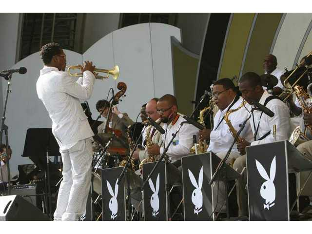 Trumpet player, arranger and bandleader Ray Hargrove brings a contemporary edge to big-band jazz during the 30th anniversary Playboy Jazz Festival.