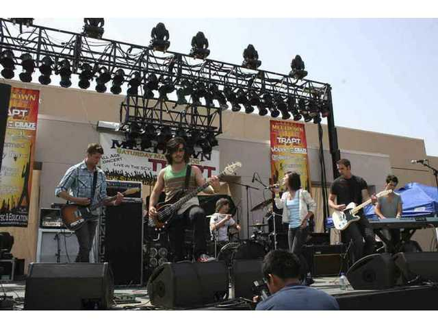 "Santa Clarita Valley rockers Renfue premiere their latest video, ""What You Wanted,"" and play live Saturday night at the Sports Complex. The band is pictured onstage at the 2008 Summer Meltdown concert in May."