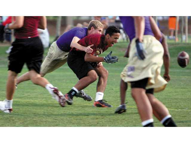 Passing league heats up in SCV