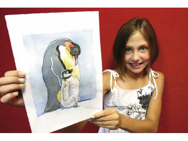 Camryn Patterson, 10, of Valencia Meadows Elementary was recently named the Most Artistic Student as part of The Kids Philosophy Slam.