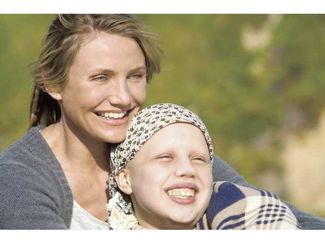 "Cameron Diaz, left, and Sofia Vassilieva are shown in a scene from New Line Cinema's ""My Sister's Keeper."""