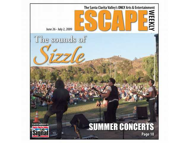 Numerous summer concerts are available in the SCV, including Concerts in the Park, shown here.