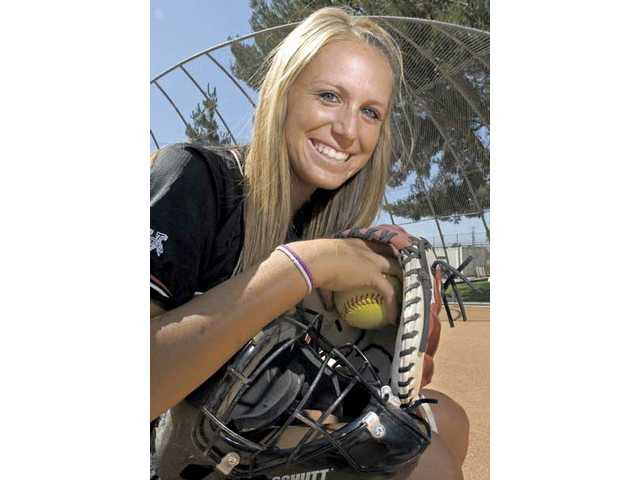 Jessica Shults drove in the only run in two of Hart's three 1-0 CIF-SS Div. I playoff wins. She finished the season with a .448 batting average and 10 home runs.