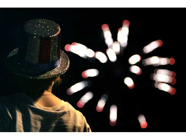 Spectators have several options for viewing fireworks in the Santa Clarita Valley on the Fourth of July this year.