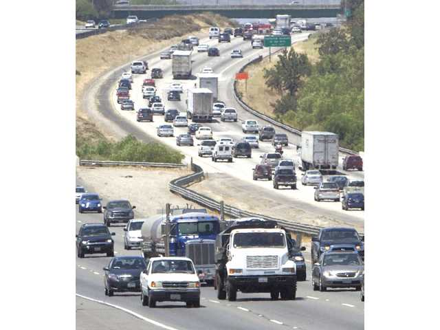 People traveling for the holidays cause delays on Interstate 5 Friday afternoon.