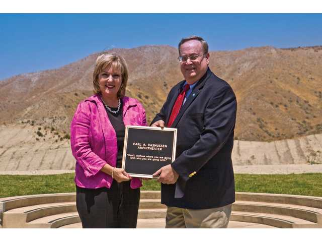 COC amphitheater named for developer's dad