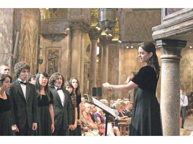 """It was the right year to take them because these students were so ripe for the pieces I wanted to do,"" said choral director Christine Enns."