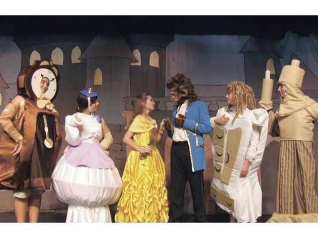 "The cast of ""Beauty and the Beast"" Junior is made up entirely of students in the Canyon Theatre Guild's STARS Workshop. The show will be performed this Friday and Saturday only."